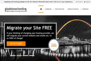 Gladstone Hosting for Web Hosting Packages
